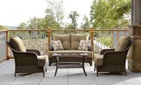 Lay Z Boy Furniture La Z Boy Outdoor Benjamin 4pc Seating Set Shop Your Way Online
