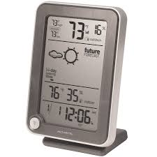 amazon com acurite 02003m weather station with atomic clock home