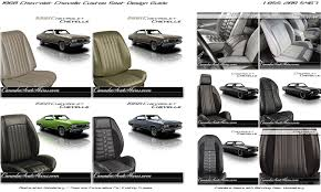 1968 chevelle upholstery and seat foam kit