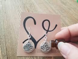 original earrings the original lotus essential diffuser earrings free shipping