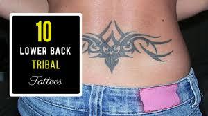 10 lower back tribal tattoos amazing ideas