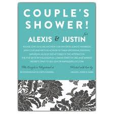 couples wedding shower invitation wording couples shower invitation wording paperstyle