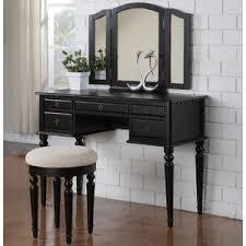 bedroom vanity without mirror wayfair