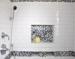 Niche Bathroom Shower Ceramic Tile Shower Niche Interior Design Ideas