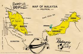 Map Of Malaysia Visual Comm Historiographic Malaysia Southeast Asia