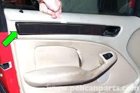 bmw e46 interior door panel removal bmw 325i 2001 2005 bmw