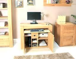 Hide Away Computer Desk Computer Desk With Cupboard Hideaway Computer Desk Cabinet Office