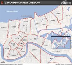 Zip Code Map Washington by How Do We Map New Orleans Let Us Count The Ways Nola Com