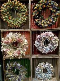 wreath display at terrain 8 25 13 floral display pinterest