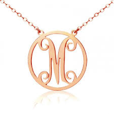 monogram jewelry cheap 42 best ns circle necklace images on circle necklace