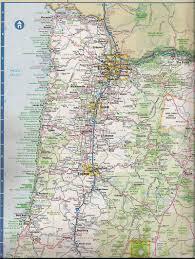 Astoria Oregon Map by Teardrop Trails Oregon Travels