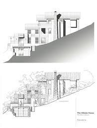 hillside home plans house modern hillside house plans modern hillside house plans