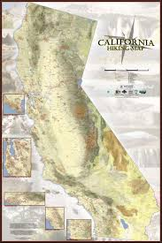 california map detailed find your next hike on detailed trail map of california sfgate