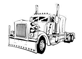 impressive truck coloring pages nice colorings 903 unknown