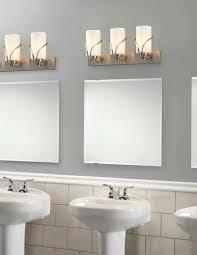 Bathroom Necessities Bathrooms Design Light Bathroom Fixtures Lowes In Chrome Finish