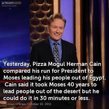 Herman Cain Meme - joke yesterday pizza mogul herman cain compared his ru