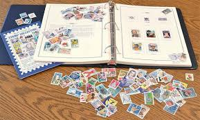 photo album holds 1000 photos u s album with 100 postally used sts 1 000 hinges and a free