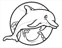 Dolphin Coloring Pages Printable printable dolphin pictures dolphin free printable coloring pages