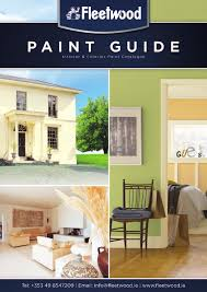 Fungicidal Wash For Interior Walls Fleetwood Paint Guide 2015 By Derek Byrne Issuu