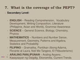 reading comprehension test ncae 3 2016 pept overview philippine educational placement test
