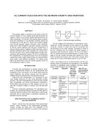 dc current injection into the network from pv grid inverters pdf