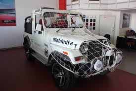 this is mahindra thar di incredible india limited edition soulsteer