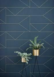 papier peint leroy merlin cuisine déco salon papier peint leroy merlin geometrique bleu foncé