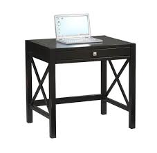 Black Metal And Glass Computer Desk by Furniture Deep Glass Cut Out Black Computer Desk And Yellow