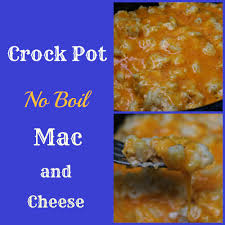 crock pot no boil macaroni and cheese