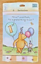 winnie the pooh birthday child greeting cards ebay