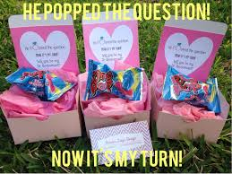 personalized ring pops he popped the question now it s my turn personalized