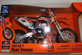 red bull racing motocross ryan dungey red bull ktm sxf 450 5 1 6 scale