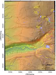 Terminus Cave Map Mckenzie Pass U2013 Santiam Pass Loop Youthful Volcanism In The High
