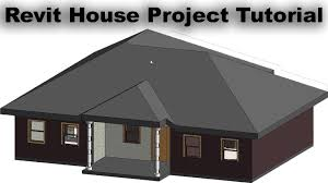 revit house project tutorial for beginners 2d house plan and 3d