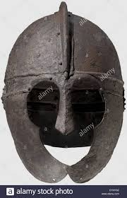 a late roman iron helmet circa 4th 5th century a d formed of