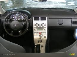 2005 chrysler crossfire limited roadster dark slate grey dashboard