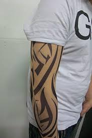 fake tattoo sleeve new tribal design t4 amazon co uk kitchen