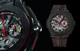 all black ferrari hublot u2013 carlo milano