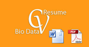 Difference Between Resume And Cv Difference Between Resume Cv And A Bio Data