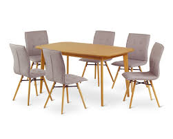 dining table sets with fabric chairs with ideas gallery 11212 zenboa
