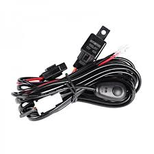 12v led light bar auxbeam 12v 40a light bar wiring harness kit for one light