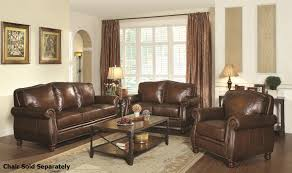 Brown Leather Sofa And Loveseat Montbrook Brown Leather Sofa And Loveseat Set A Sofa