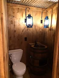 rustic basement powder room home sweet home pinterest rustic