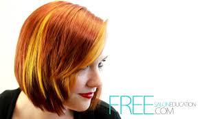 the latest hair colour techniques hair color tutorial block hair color technique dimensional