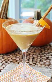 vegan pumpkin spice martini veganosity