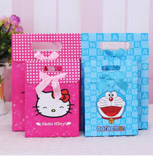 hello gift bags 20 pcs hello doraemon wedding party birthday