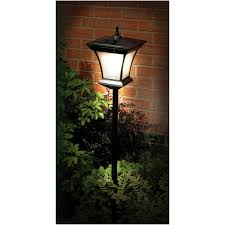 solar powered lantern lights great solar powered outdoor lighting garden l post 1 3m lights