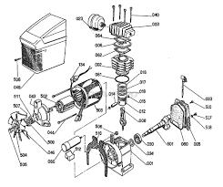 ridgid ol50135 portable gas air compressor parts