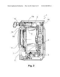washing machine with an improved washing rinsing liquid inlet