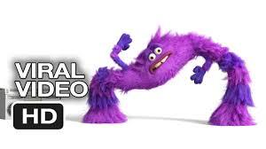 monsters university viral video performance art 2013